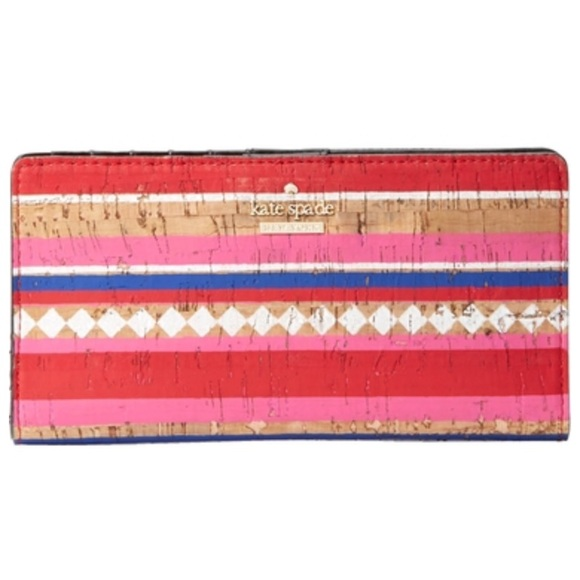 Kate Spade NY Campus Lane Cork Stacy Wallet